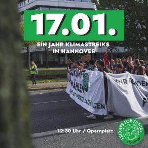 Klimastreik / Freitagsdemo: 1 Jahr Fridays for Future Hannover @ Opernplatz