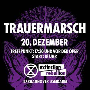XR Trauermarsch @ Vor der Oper