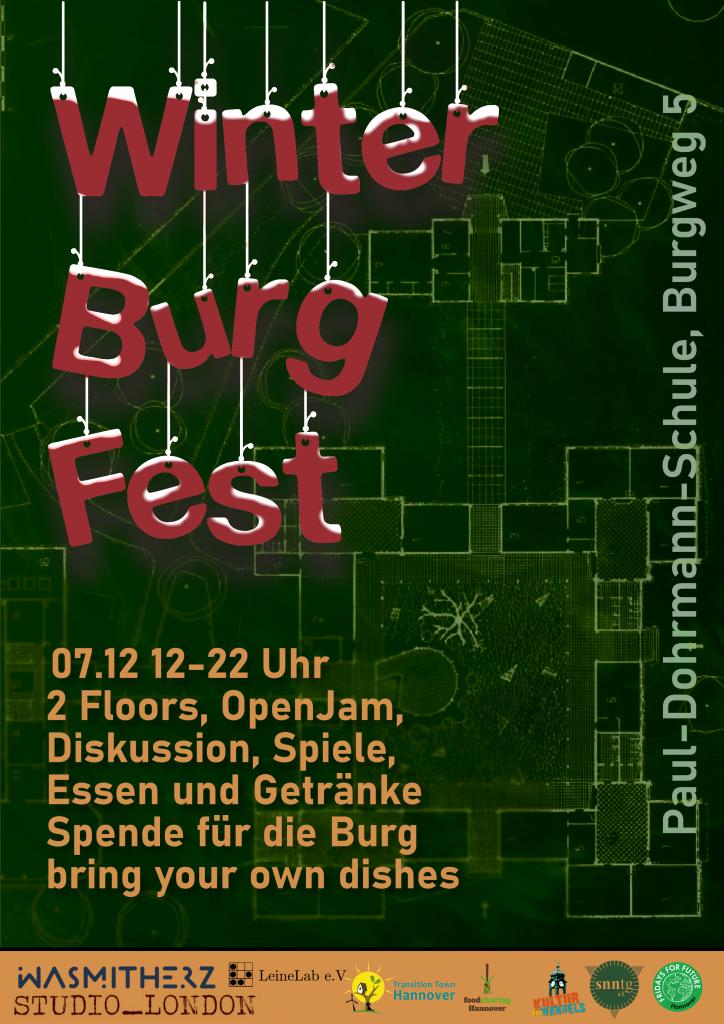 Winter-Burg-Fest in der Suffizienzburg @ Paul-Dohrmann-Schule