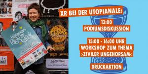 """Utopianale: Podiumsdiskussion zum Film """"Climate Warriors"""" @ Freizeitheim Linden"""
