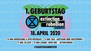 1. Geburtstag von XR Hannover @ Online