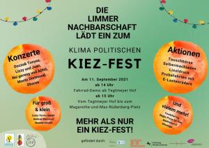Die Enklave - das klimapolitische Kiez-Fest (LiNa, Limmer Nachbarschaft) @ Tegtmeyerhof/Wunstorfer Straße